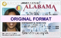 Alabama fake id card, scannable alabama fake id cards