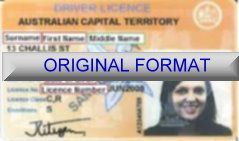 AUSTRALIAN CAPITAL TERRITORY FAKE DRIVER LICENSE ORIGINAL FORMAT, DESIGN SPECIFICATIONS, NOVELTY SECURITY CARD PROFILES, IDENTITY, NEW SOFTWARE ID SOFTWARE AUSTRALIAN CAPITAL TERRITORY driver